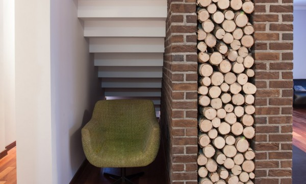 How to transform an under-the-stairs space into a reading nook