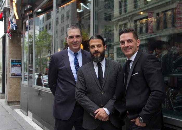 Brothers Jim, Anthony and Adam Tzemopoulos run Reuben's Deli & Steakhouse.