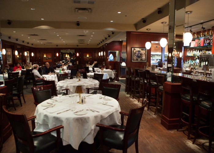 Rib'N Reef Steakhouse creates a luxurious experience through consistent service with a clientele that expects high quality every time.