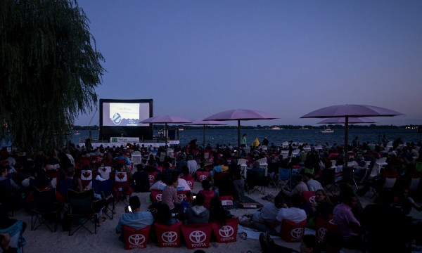 Free outdoor movie screenings in Toronto this summer