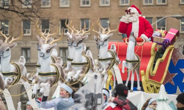 Santa Claus Parades in Toronto and the GTA