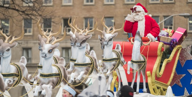Santa Claus Parades in Toronto and the GTA