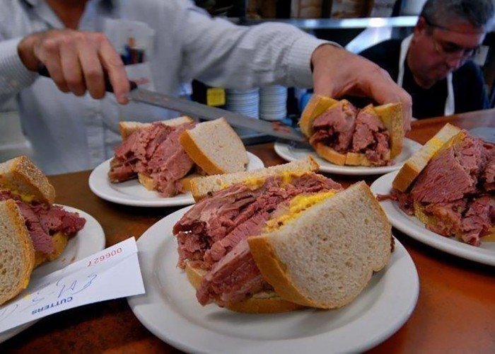 Schwartz's Smoked Meat is home to some of the best smoked meat in North America