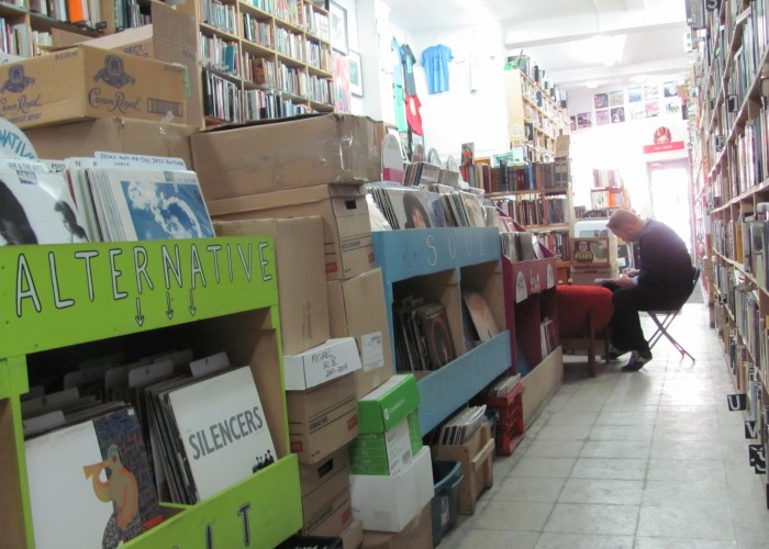 There's an amazing selection at Encore Books and Records, a second-hand book and record shop where the stock is always changing.