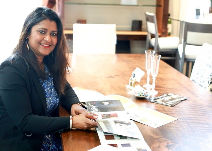 Reena Venkatesh is the principal designer and owner of Seasonal Leaf Designs.