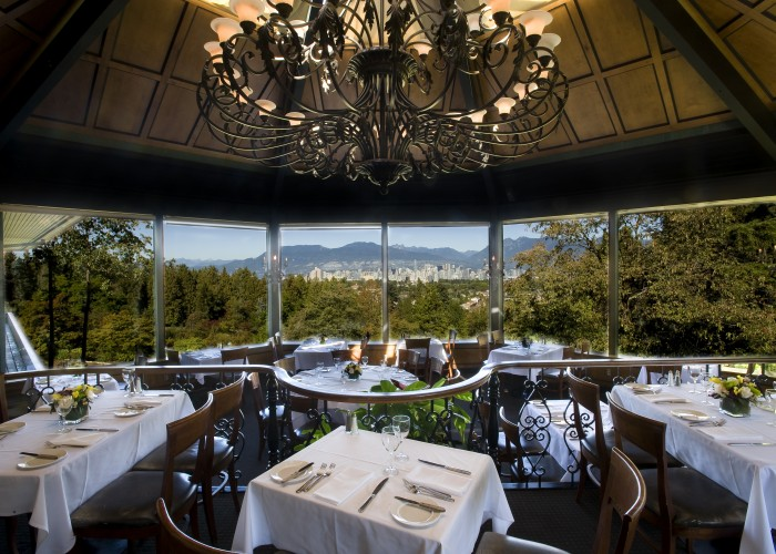 The sprawling restaurant features a main dining area, private rooms and a open-air patio, accommodating nearly 300 guests in total.