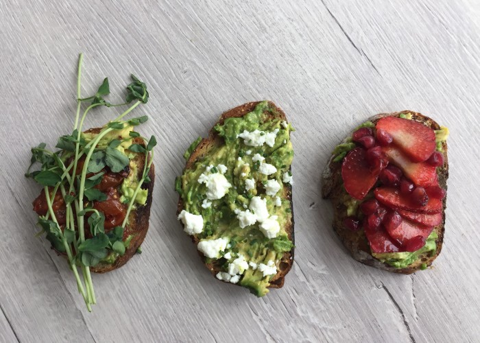 Seed N Salt serves up delicious light options, such as the avocado toast.
