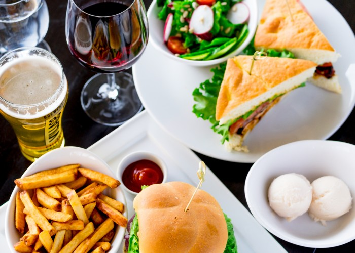 Sky 360 also serves locally sourced craft beers and wines from British Columbia