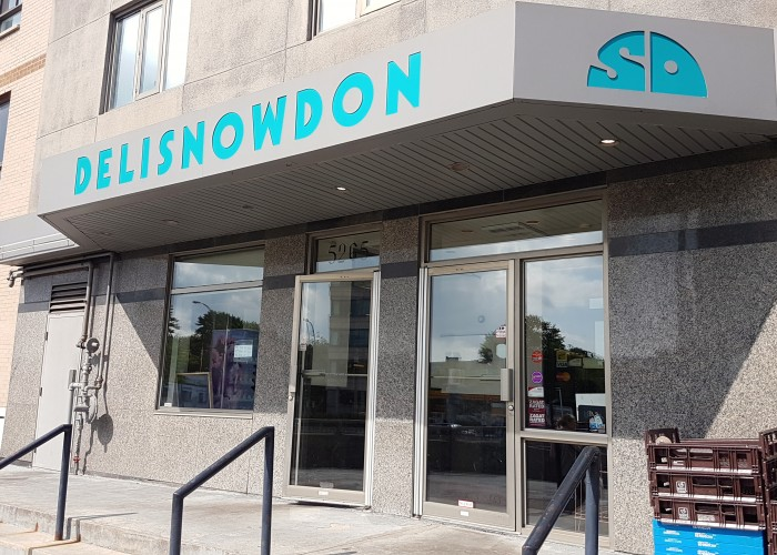 The Morantz family bought out the entire two-storey building in the 1960s to expand Snowdon Deli.
