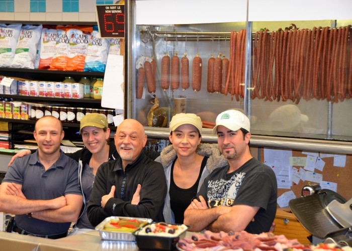 The Snowdon Deli management team is made up of a close-knit team.