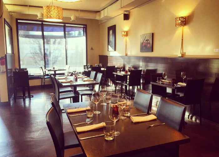 Solstic Seasonal Cuisine offers a balance between global cuisine and locally sourced food.
