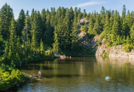 Serene swimming holes near Vancouver