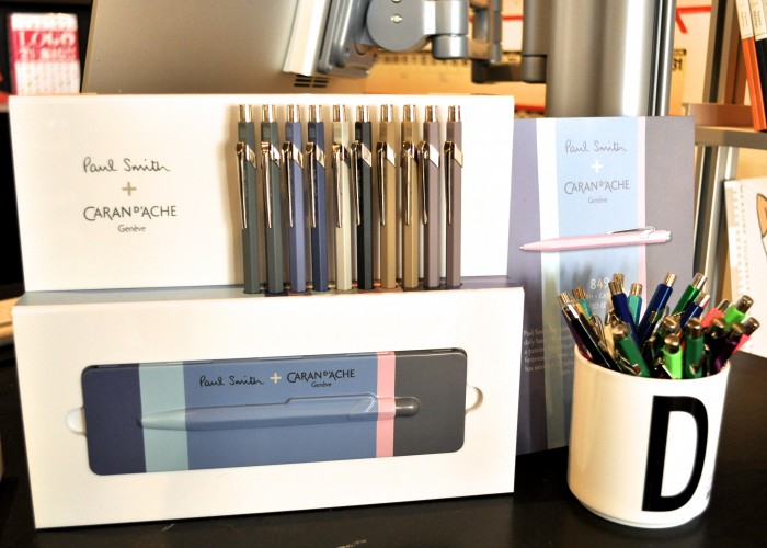 Take Note - elegant Caran d'Ache ballpoint pens from Switzerland