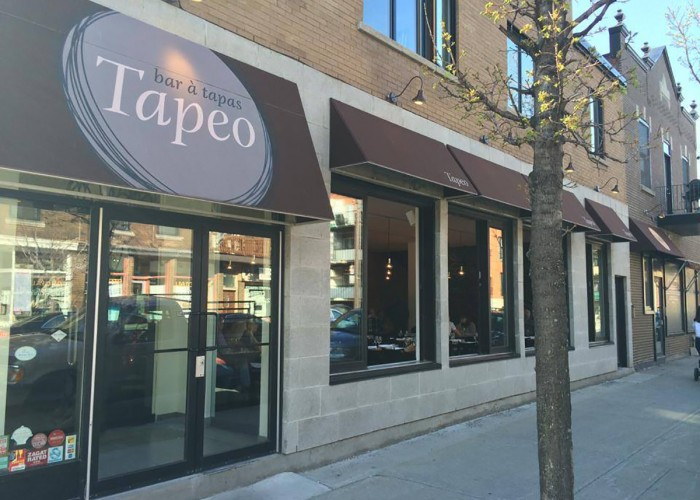 Located in Villeray, Tapeo is a must-try restaurant for lovers of tapas and Spanish cuisine.