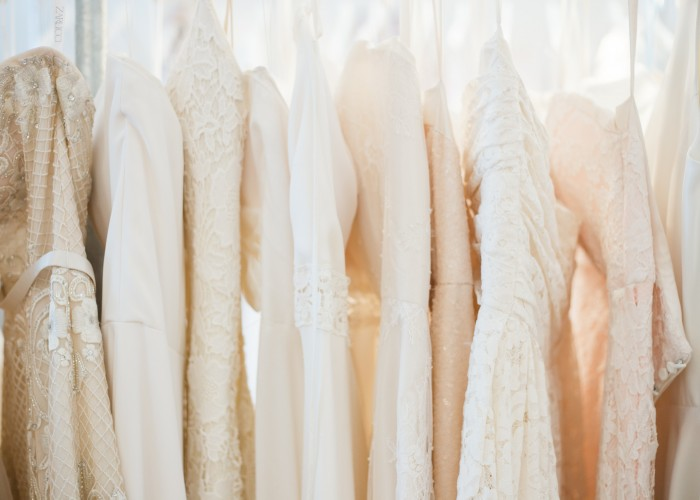 At The Handmade Bride, the dresses are unique, well-made flattering pieces that fit the hip aesthetic of the store.