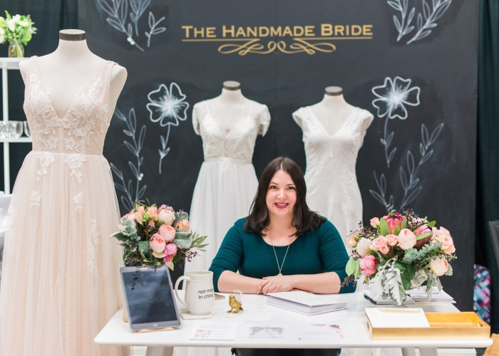 Owner of The Handmade Bride, Meaghan Brunetti makes dress-buying stress-free.