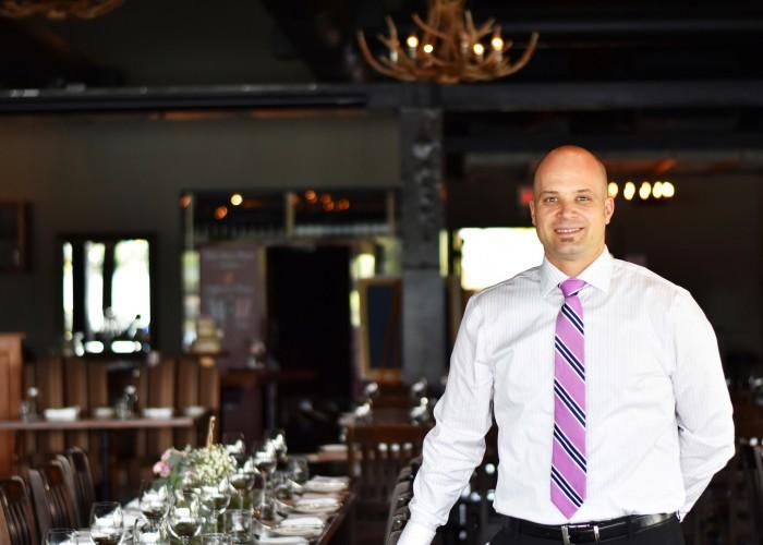The Lake House manager Scott Woodruff.