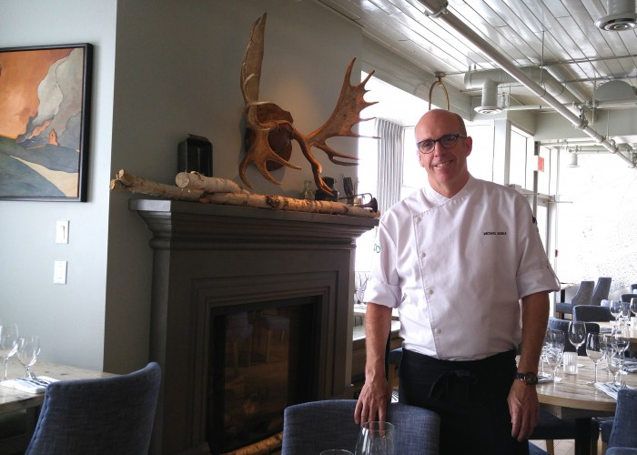 The Nash chef Michael serves gourmet comfort food.