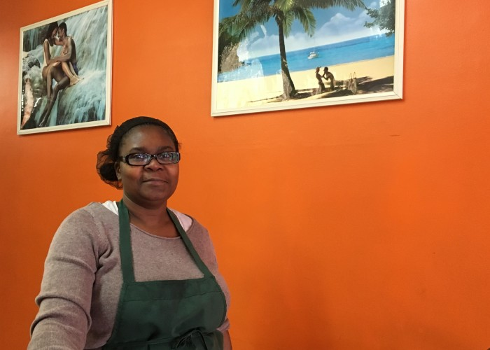 Inez Gayle, owner of The People's Caribbean Dutchpot, learned to cook from her grandmother in Jamaica.
