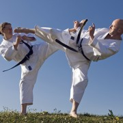 The best way to get your kicks at karate school