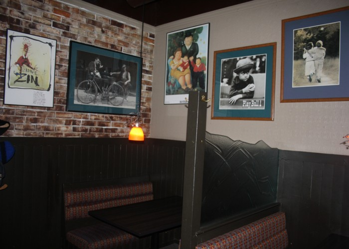 The Jason George - 15 draught beers, extensive wine list, 80-seat patio, seven flat screen televisions, dart boards, lunch, dinner and platter menu, weekend brunch menu, daily meal specials, fireplace, wheelchair access