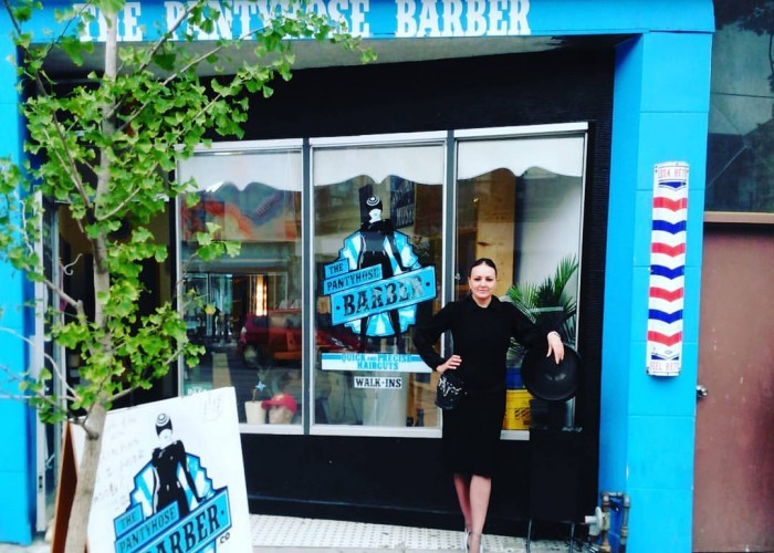 The Pantyhose Barber opened in the heart of Little Portugal in 2015.