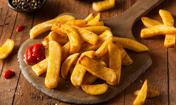 Irresistibly delicious homemade French fries