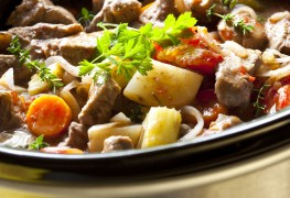 The best way to tenderize stew meats in a slow cooker