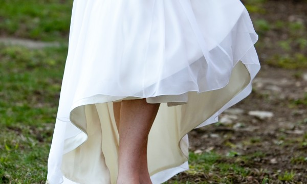 Should you trash your wedding dress?