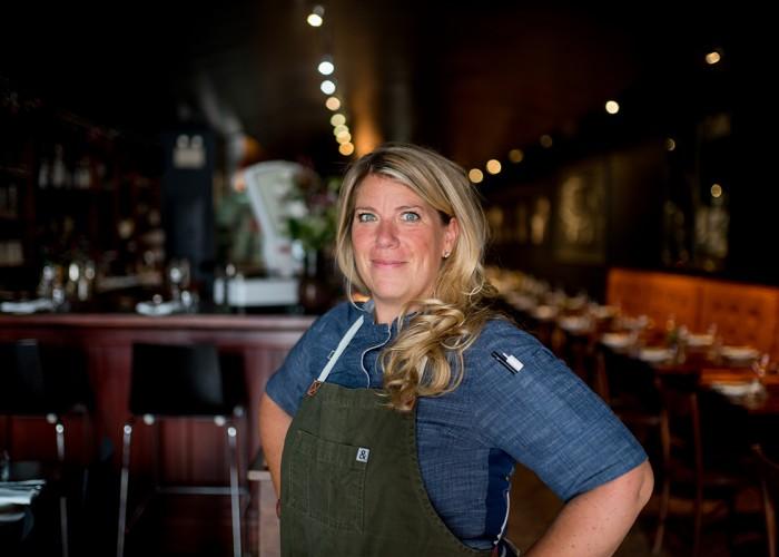 Alida Solomon, chef at Tutti Matti.