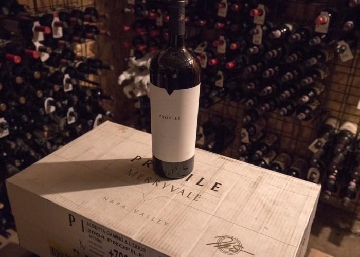 Vintage Chophouse serves an award-winning wine selection.