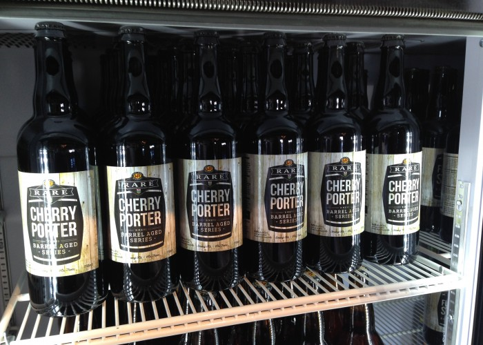 Wild Rose Brewery Taproom produces limited edition beers.