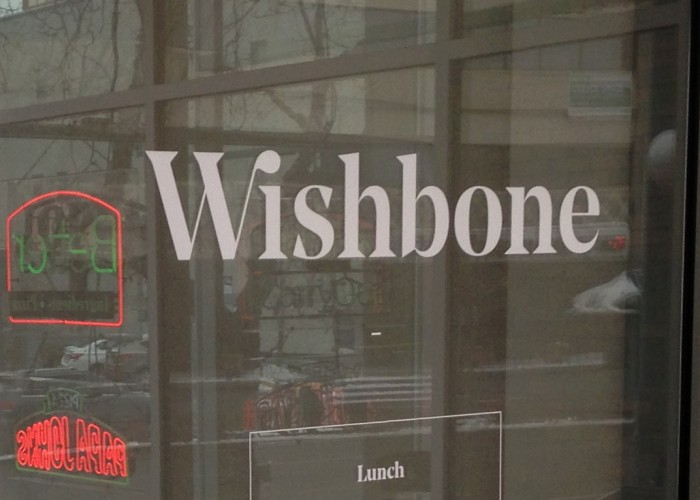 Wishbone is located on Edmonton's popular Jasper Avenue.