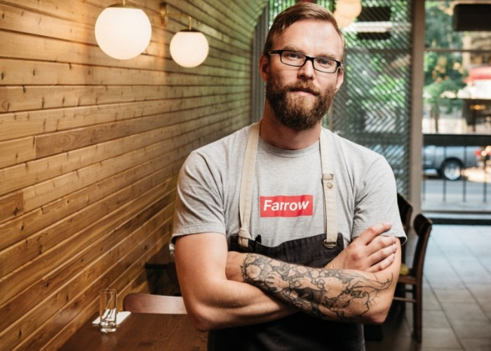 Wishbone reflects chef and co-owner Brayden Kozak's affinity for working with seafood