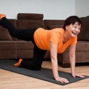 A few knee and hip stretches for arthritis