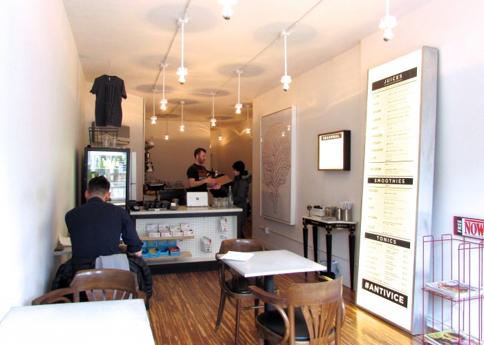 Anti Vice Juicery is a community juice bar dedicated to health, wellness and good vibes.