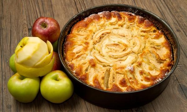 Decadent desserts: peanut pie and apple tart