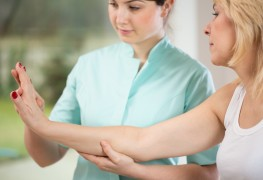 Hand stretches and massages for arthritis