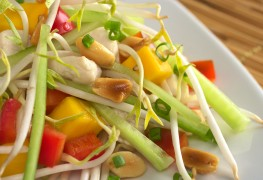 Simple secrets to extraordinary recipes: tarragon and asian chicken salads