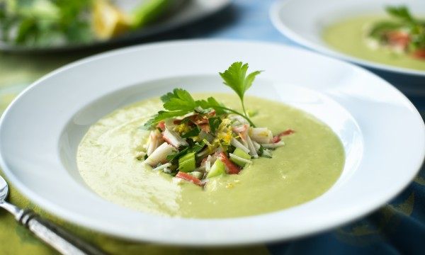 2 refreshing chilled-soup recipes for summer
