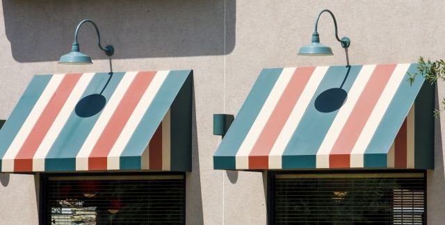 How to revitalize awnings and shutters