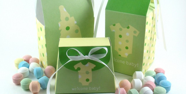 Festive wrapping tips for baby shower gifts