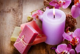 Make your own bayberry candles at home