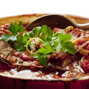Meaty main dishes: Louisiana and North African beef stew