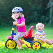 Use riding toys to help your toddler learn to walk