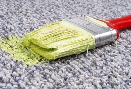 How to clean paint spills and splatters from your clothing