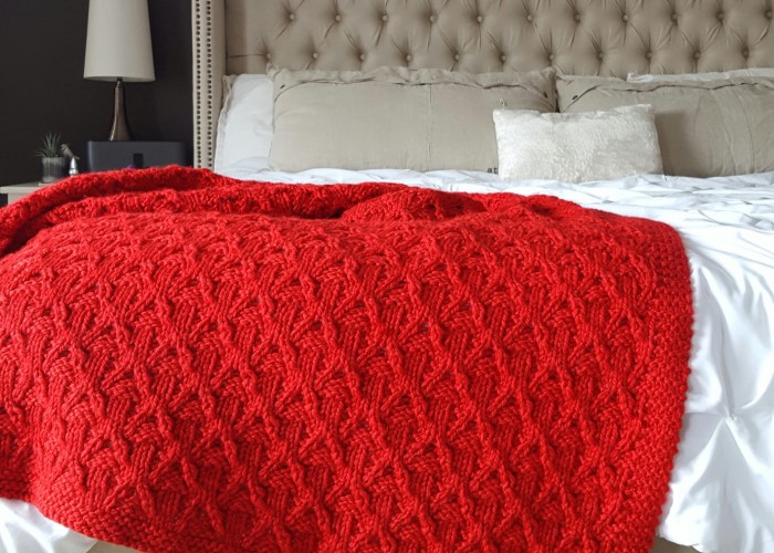 Hayden & Ella Handcrafted makes luxurious items, like hand-knit blankets, at affordable prices