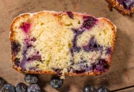 Decadent dessert: blueberry swirl coffee cake