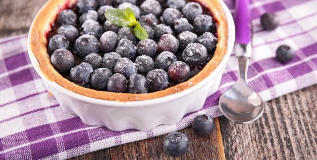 Mouth-watering antioxidant blueberry-orange tart