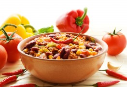 Beat blood pressure with bean chili